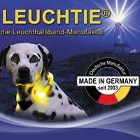Leuchthalsbänder der Firma LEUCHTIE